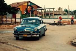 CubaOldCarCheGuevara