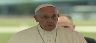 Pope speech Havana Airport