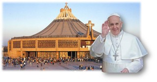 Papa y santuario