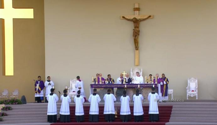 final mass nvoz altar