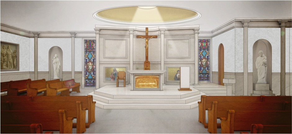 potential new church altar