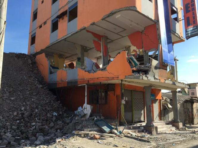 Edificio destruido