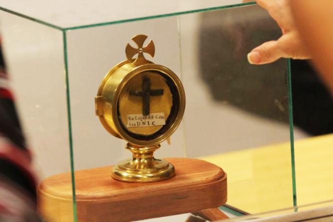 Exposición reliquias 1