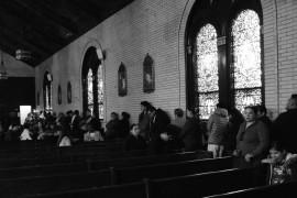 Lunes de Reconciliación. Parroquia de Santa Brígida, Brooklyn. Foto: Jorge I. Domínguez-López
