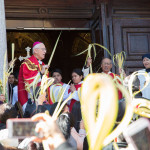 Domingo de Ramos. Concatedral de San José, Brooklyn. Foto: Elimelec Soriano