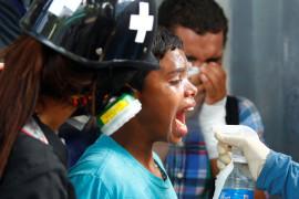 Más de 20 muertos e incontables heridos- entre ellos varios niños- ha sido el saldo de la represión.