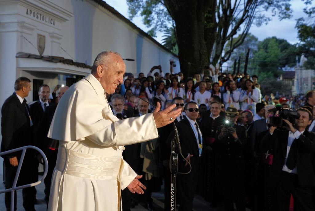 Viaje del Papa a Colombia: Sean los primeros en amar