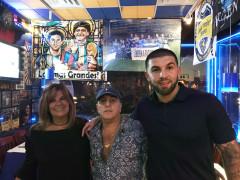 Walter y Patricia Coni con su hijo Matías. (Foto: Marietha Góngora)