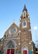 El campanario terminado tras dos años de recaudación de recursos y varios meses de obras.