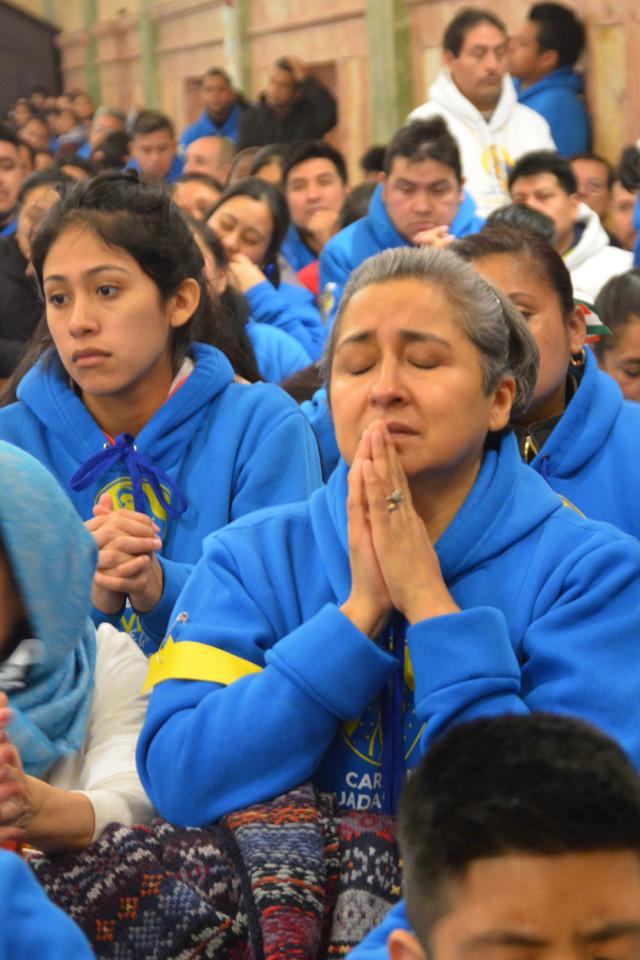 La devoción a la Virgen de Guadalupe es uno de los rasgos del catolicismo mexicano.