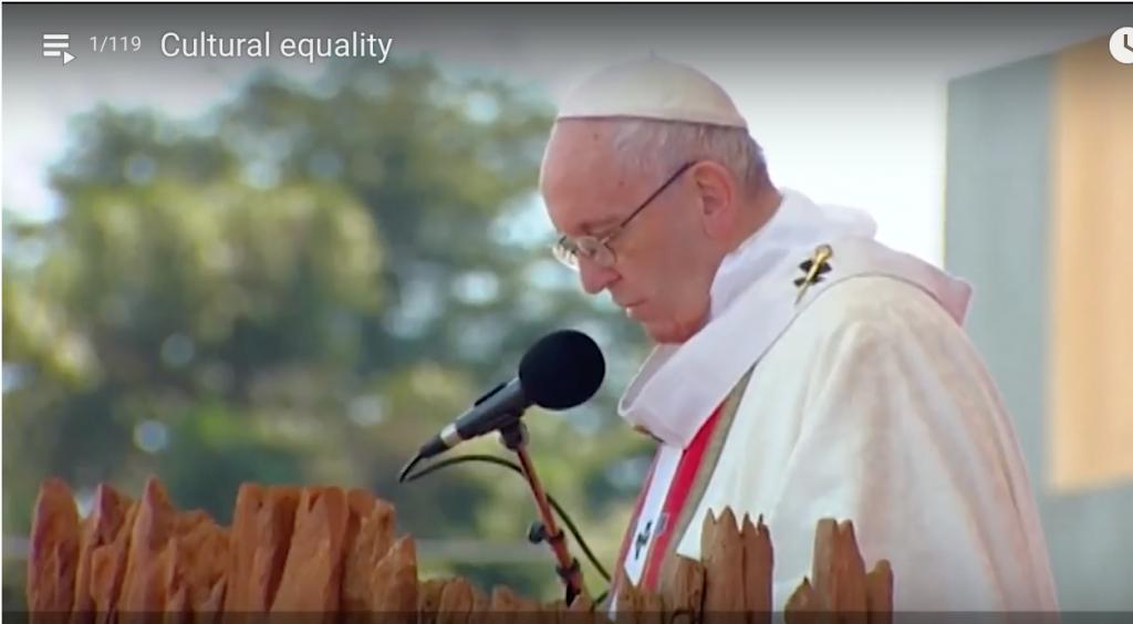 Video del Papa Francisco en Temuco, Chile