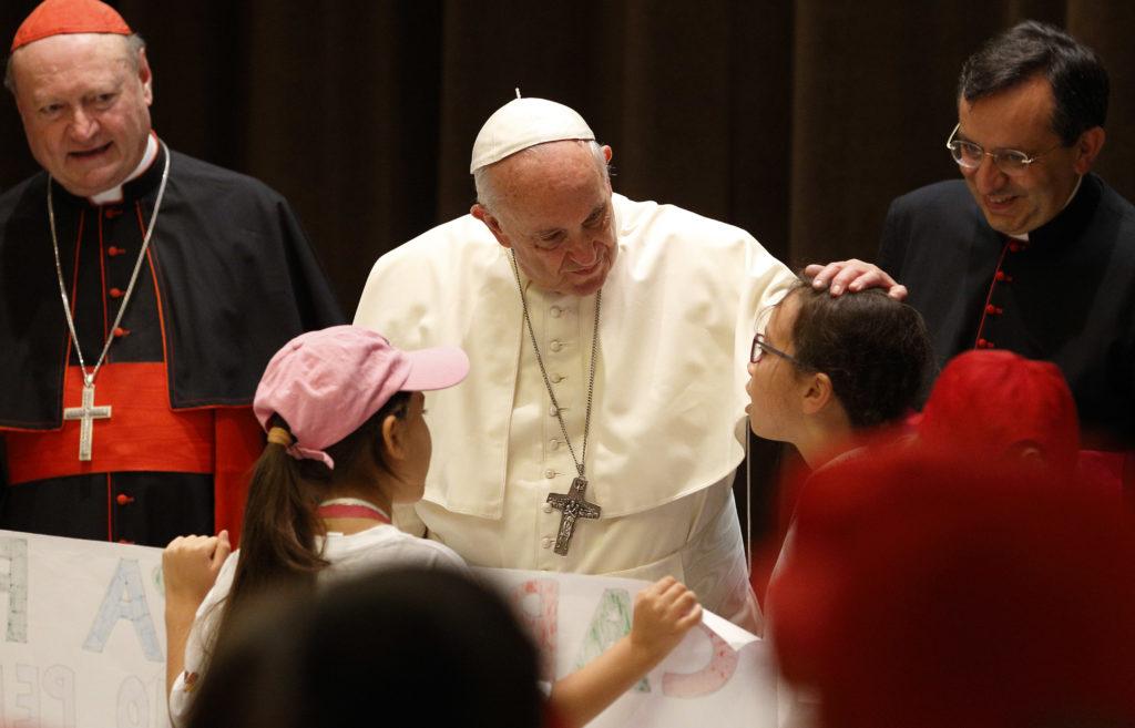 El papa comparte recuerdos de su infancia