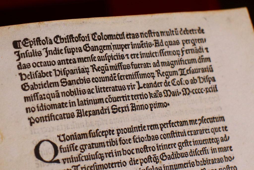 Devuelven carta de Colón robada a Biblioteca del Vaticano