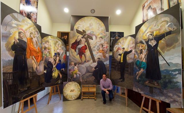 Raúl Berzosa: el artista español con obras en el Vaticano