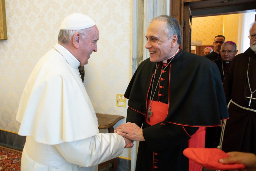 Obispos estadounidenses se reúnen con el papa Francisco