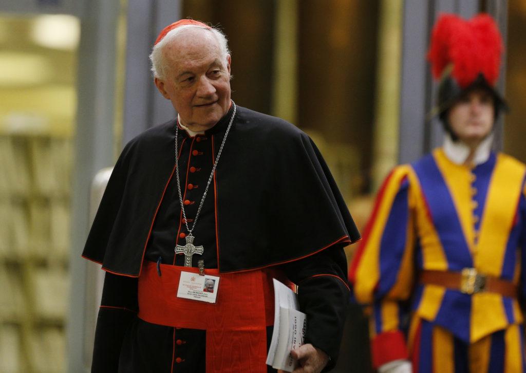 El cardenal Marc Ouellet rechaza denuncias contra el Papa