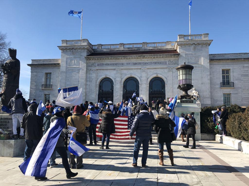 Ignorados en su país, nicaragüenses piden ayuda a OEA