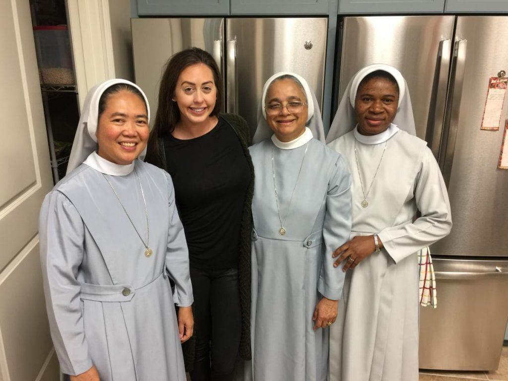 Las heroínas en la lucha contra el tráfico humano son las monjas
