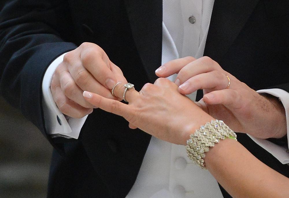 ¿Se bendicen los anillos para un matrimonio civil?