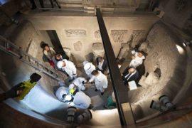 forenses estudian huesos de osarios Vaticano