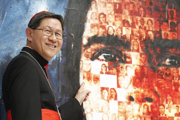 Cardenal Tagle: la sencillez de los grandes