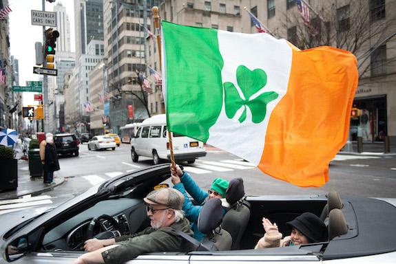 Un desfile improvisado por la Quinta Avenida