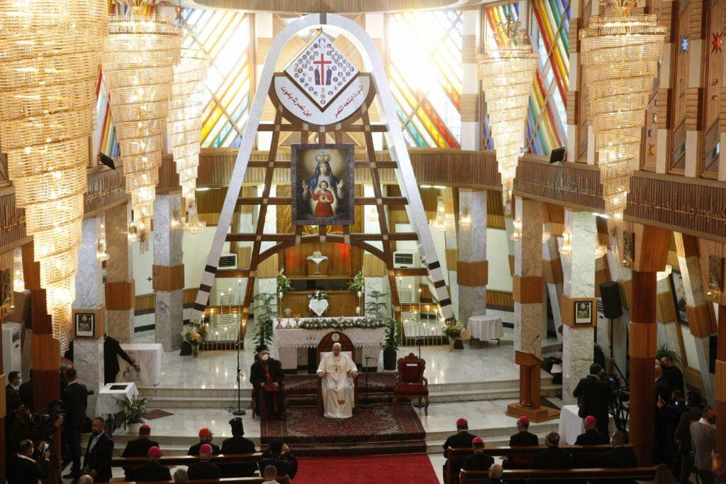 El Papa recuerda a los mártires iraquíes en Bagdad