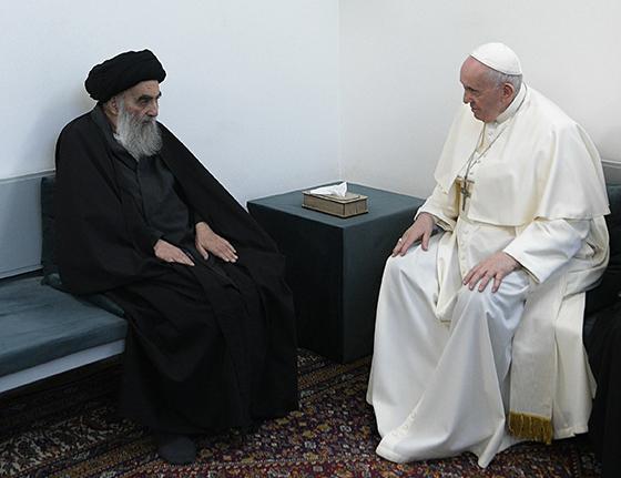 Encuentro del Papa con clérigo chiíta en Irak, una nueva fase del diálogo interreligioso