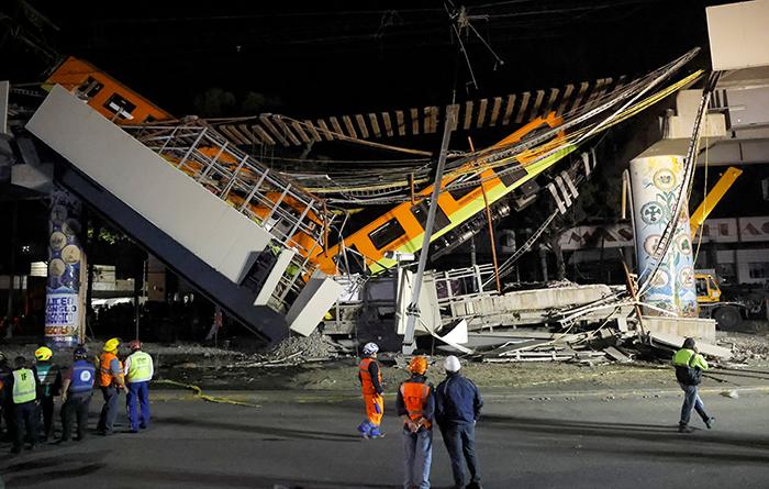 Líderes de la iglesia en México ofrecen oraciones tras accidente de metro
